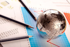 Het Concept van het bedrijfsleven Stock Foto's