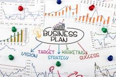 Het concept van het businessplan Royalty-vrije Stock Afbeeldingen