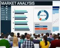 Het Concept van het de Analyseseminarie van mensenboekhoudkundige gegevens Royalty-vrije Stock Afbeelding
