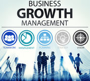 Het Concept van het de Opdrachtsucces van het bedrijfsstrategiebeheer Stock Fotografie