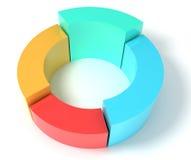 Het concept van het diagram Royalty-vrije Stock Foto's