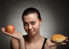 Het concept van het dieet Royalty-vrije Stock Foto
