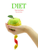 Het concept van het dieet Stock Foto