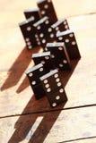Het Concept van het dominoprincipe Royalty-vrije Stock Afbeelding