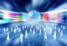 Het Concept van het e-business vector illustratie