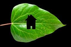 Het concept van het Ecohuis Royalty-vrije Stock Afbeeldingen