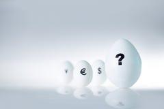 Het concept van het ei Stock Foto's