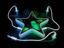 Het concept van het gadget - ster Stock Afbeeldingen