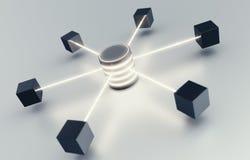 Het Concept van het gegevenscentrum Royalty-vrije Stock Fotografie