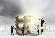 Het concept van het geld Stock Afbeelding
