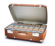 Het concept van het geldgeval Royalty-vrije Stock Afbeeldingen
