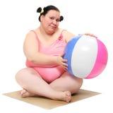 Het concept van het gewichtsverlies. Stock Afbeeldingen
