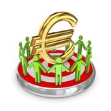 Het concept van het groepswerk. Royalty-vrije Stock Foto