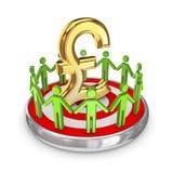 Het concept van het groepswerk. Royalty-vrije Stock Afbeeldingen