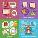 Het Concept van het hobby2x2 Ontwerp Stock Foto