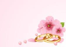 Het concept van het huwelijk Stock Afbeelding