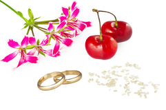 Het concept van het huwelijk Royalty-vrije Stock Afbeelding