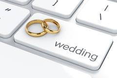 Het concept van het huwelijk Royalty-vrije Stock Fotografie