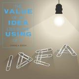 Het concept van het idee Royalty-vrije Stock Afbeelding