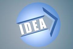 Het concept van het idee Stock Fotografie