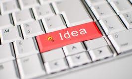 Het concept van het idee Stock Foto