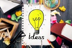 Het concept van het idee Stock Foto's