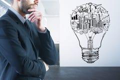 Het concept van het idee Royalty-vrije Stock Afbeeldingen