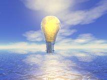 Het concept van het idee, vectorillustratie Royalty-vrije Stock Afbeelding