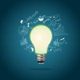 Het concept van het idee, vectorillustratie Royalty-vrije Stock Foto's