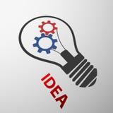 Het concept van het idee, vectorillustratie De illustratie van de voorraad Royalty-vrije Stock Foto