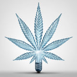 Het Concept van het marihuanaidee Stock Afbeelding
