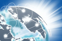 Het concept van het netwerk. Royalty-vrije Stock Afbeelding