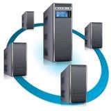 Het Concept van het netwerk Stock Foto