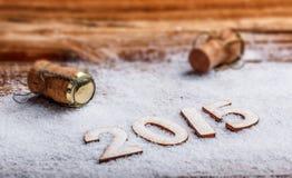 Het concept van het nieuwe jaar Royalty-vrije Stock Afbeelding
