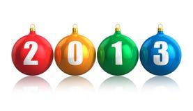 Het concept van het nieuwjaar 2013 Stock Fotografie