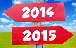 Het concept van het nieuwjaar Stock Afbeelding