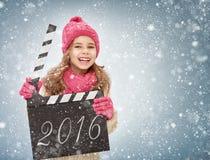 Het concept van het nieuwjaar Royalty-vrije Stock Foto