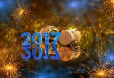 Het concept van het nieuwjaar Royalty-vrije Stock Afbeelding