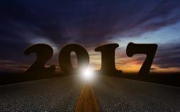 Het concept van het nieuwjaar Stock Foto