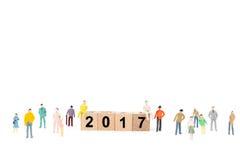 Het concept van het nieuwjaar Stock Foto's