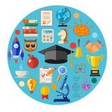 Het concept van het onderwijs Stock Afbeeldingen
