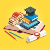Het concept van het onderwijs en van de kennis Royalty-vrije Stock Fotografie