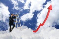 Het concept van het onderzoek Stock Foto