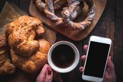 Het concept van het ontbijt Royalty-vrije Stock Afbeeldingen
