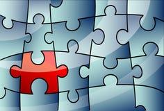 Het concept van het raadsel Stock Afbeelding