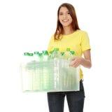 Het concept van het recycling Stock Afbeeldingen