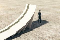 Het concept van het risico Stock Afbeelding
