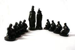 Het concept van het schaak macht Stock Foto