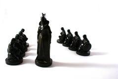 Het concept van het schaak macht Royalty-vrije Stock Foto's