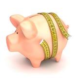 Het concept van het spaarvarken stock illustratie